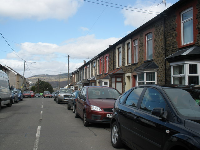 Llanwonno Road, Mountain Ash