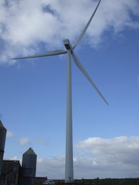 Wind Turbine, near to Necton