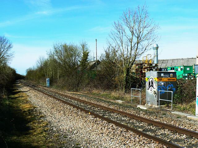 Swindon to Gloucester railway, Purton