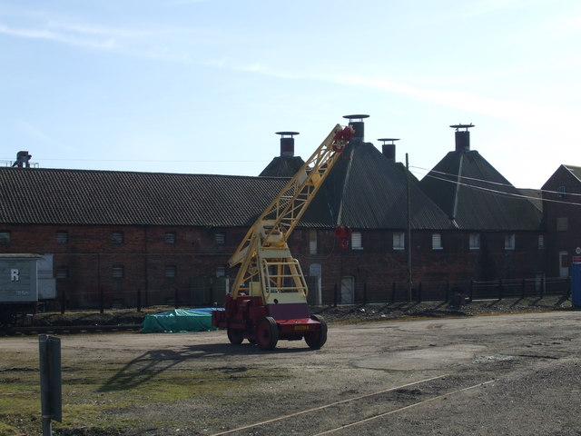 Dereham Maltings and Dereham station goods yard