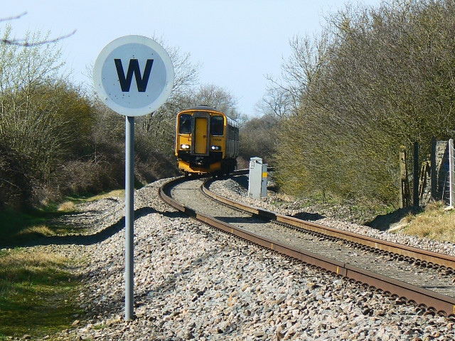 Train to Swindon, Purton (1)