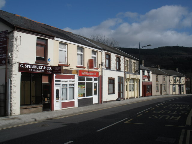 Commercial Street, Mountain Ash
