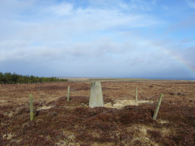 Hill of Toftcarl trig
