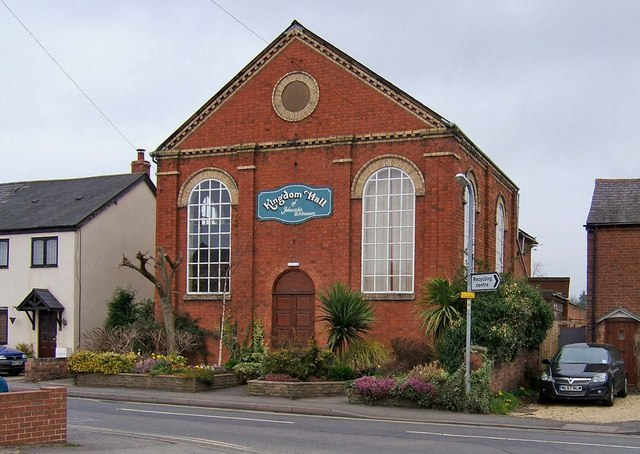 Kingdom Hall, former Primitive Methodist Chapel, Lickhill Road