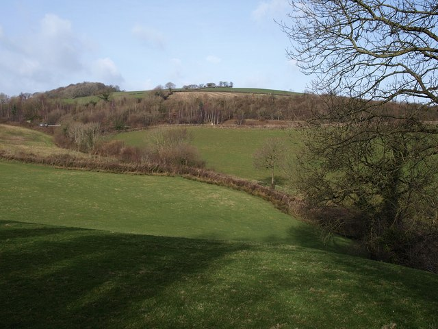 Countryside west of Bickington