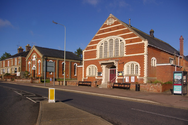 Halesworth Methodist Church and Church Hall