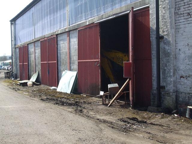 Dereham goods shed