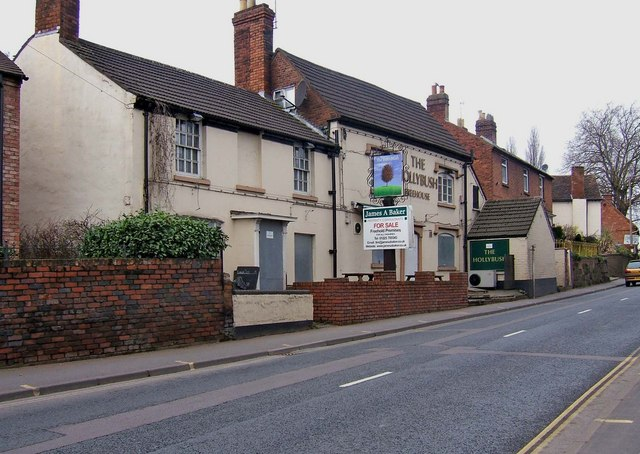 The closed Hollybush, 54 Mitton Street