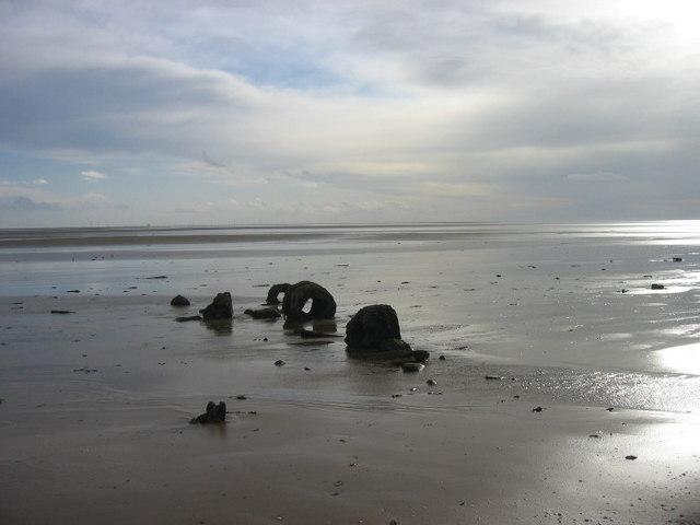 Beach at Mersehead