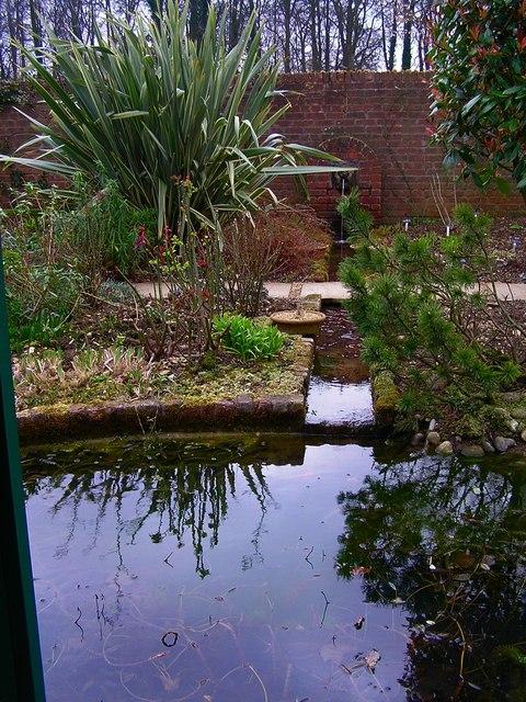 Water Garden at Barnsdale Gardens