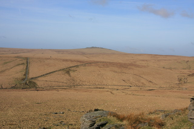View towards Great Mis Tor