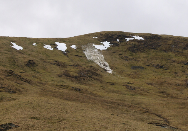 Small spring avalanche, Dead for Cauld