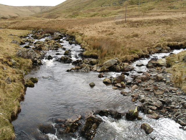 Confluence of the Back Burn with the Winterhopeburn