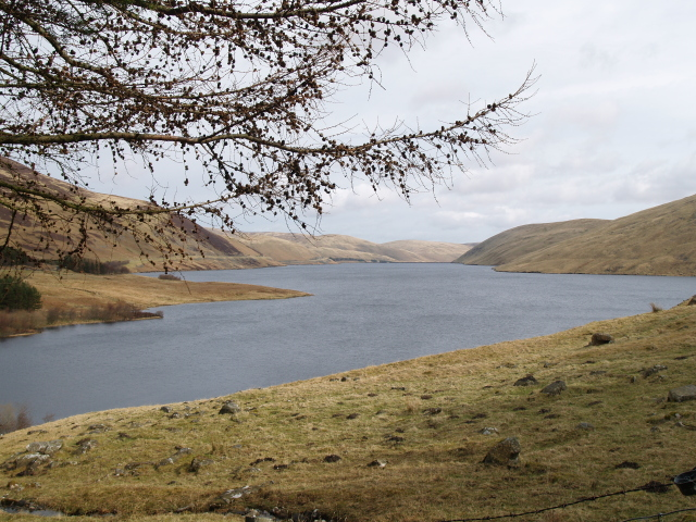 Megget Reservoir from the Winterhopeburn track