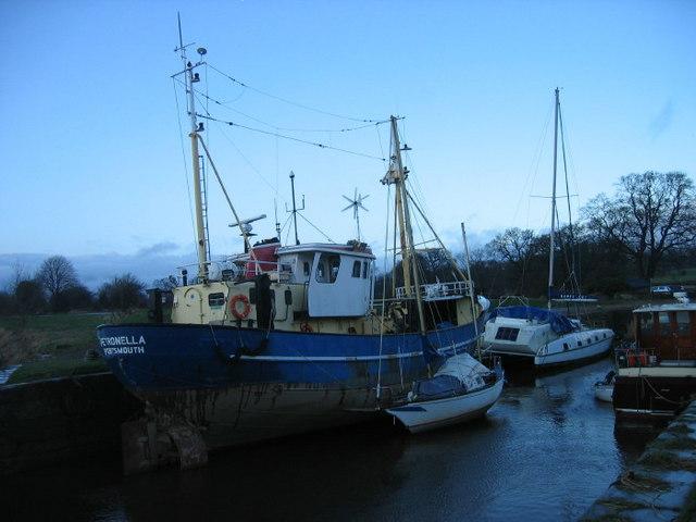 Kingholm Quay near Dumfries