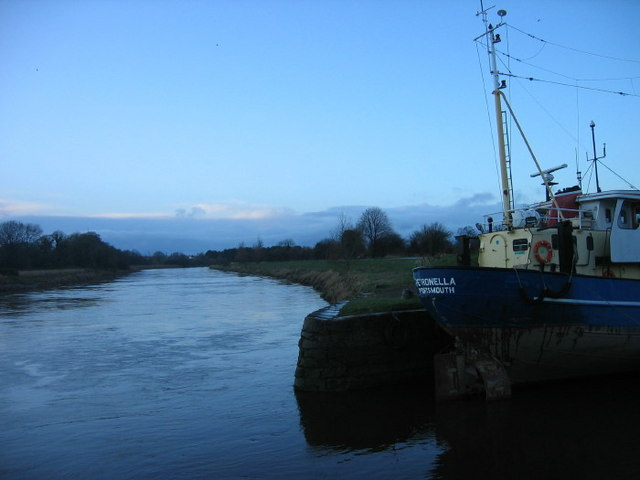 River Nith at Kingholm Quay