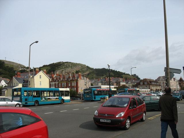 The Bus Turnaround in Gloddaeth Avenue