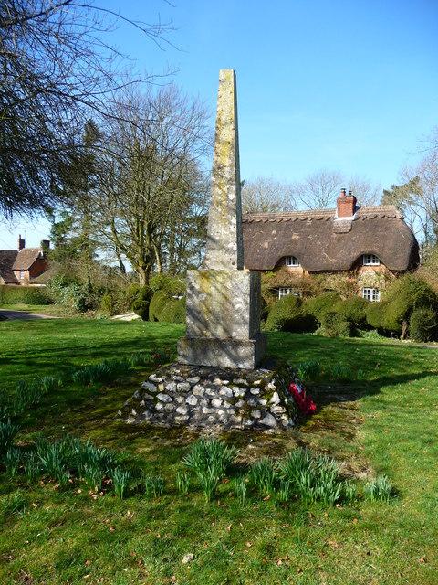 Ashmansworth - War Memorial