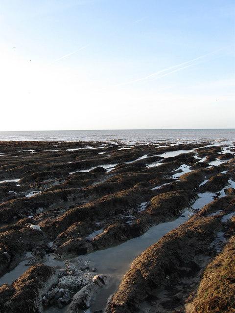 Eroded Bases of Former Cliffs