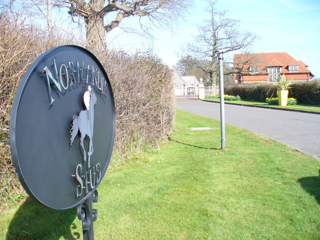 Normandie Stud Entrance