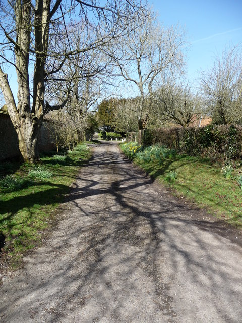 Ashmansworth - The Path To St James Church
