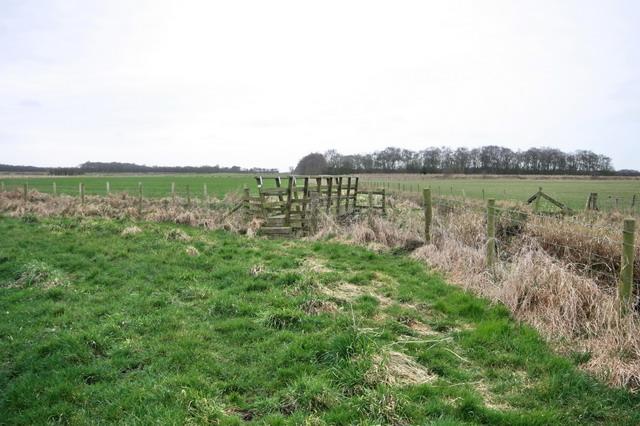 Footbridge Adjacent to Crawley's Dyke