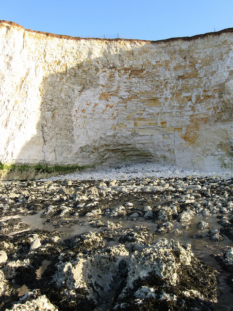 Eroded Cliff Base, Telscombe Cliffs