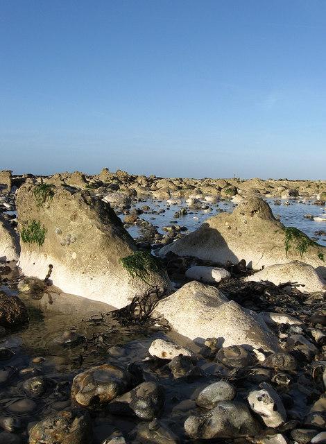 Rocks and Rock Pools, Telscombe Beach