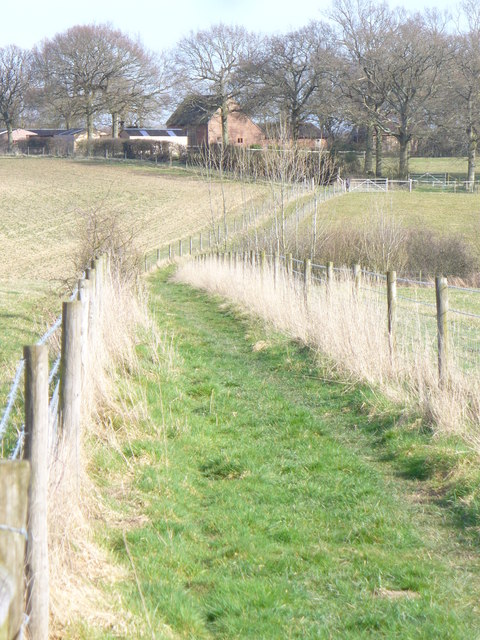 Footpath to Chandler's Barn