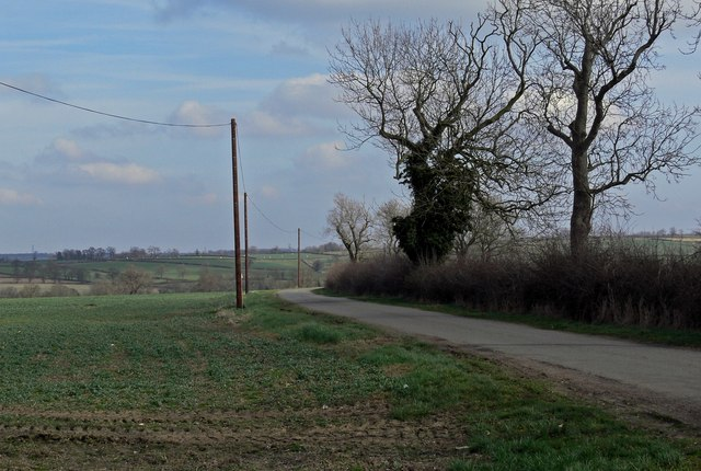 Ridgemere Lane towards South Croxton