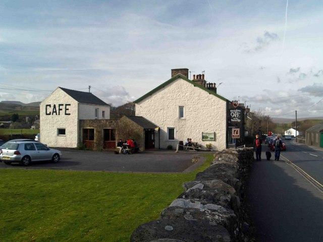 Pen Y Ghent café, Horton in Ribblesdale