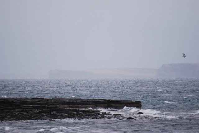 Towards Eday, from Papa Westray