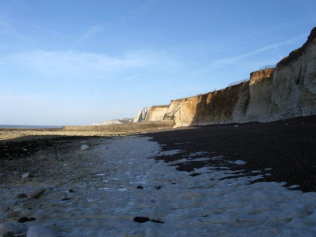 Beach near Portobello Pumping Station
