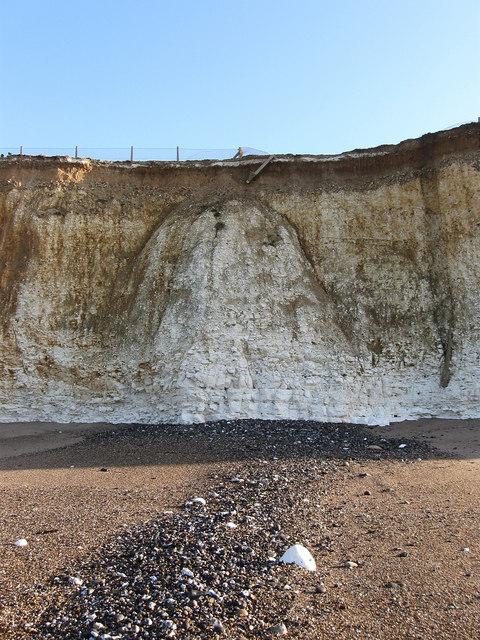 Cliff Erosion at Portobello