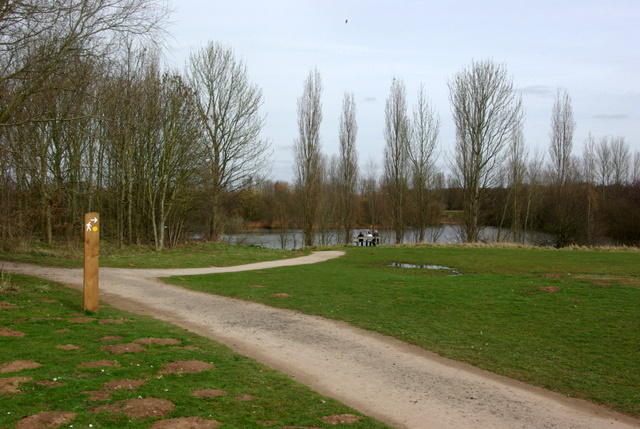 Paths at Ryton Pools Country Park