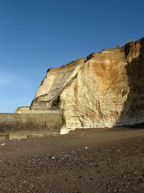 Cliffs at Portobello