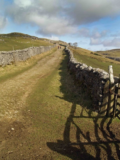 The Pennine Way near Horton in Ribblesdale #2