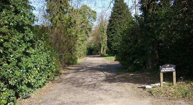 Entrance to Felbridge Showground