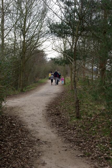 Paths at Ryton Pools Country Park