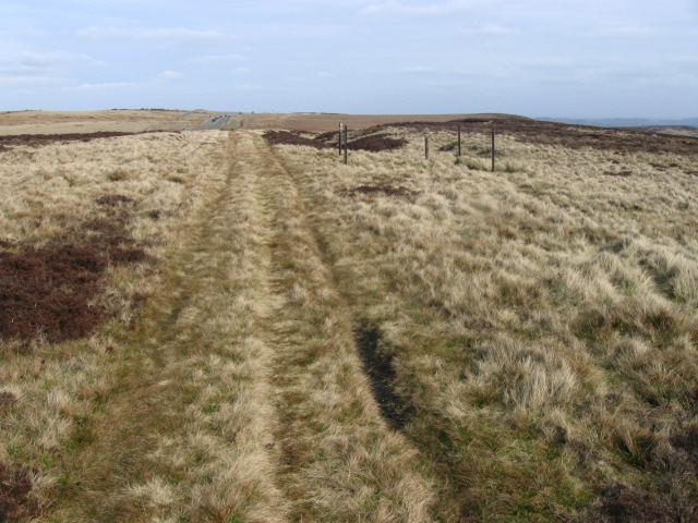 Track to Lady Cross
