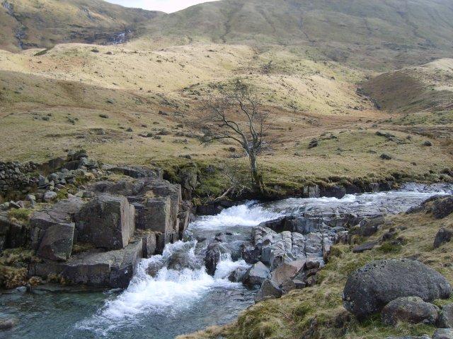Waterfalls, Langstrath Beck