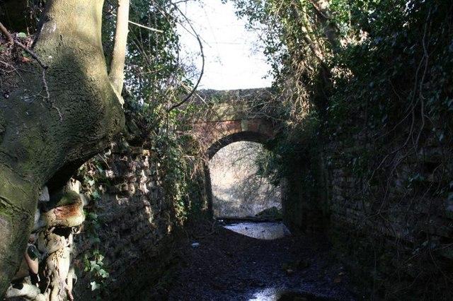 Bridge at top lock