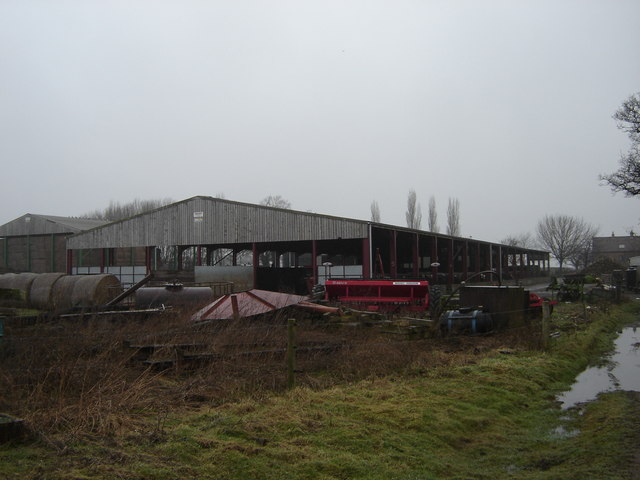 Farm  Buildings  Linton  Wood  Farm