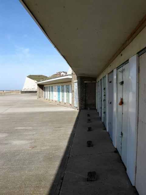Beach Huts, Undercliff Walk