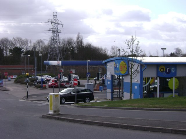 Car wash and filling station, Tesco, Emscote Road, Warwick
