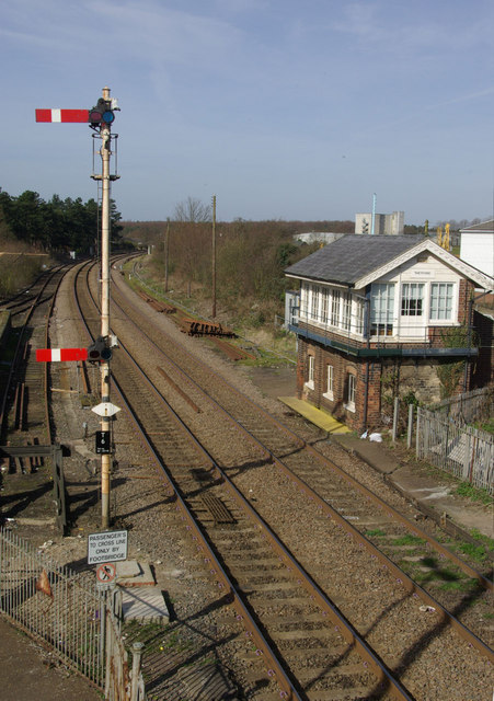 Railway at Thetford