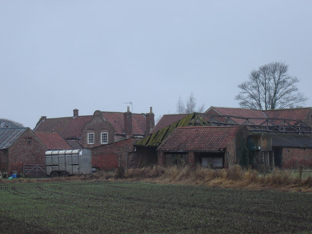Youlton  Hall  and  farm  buildings