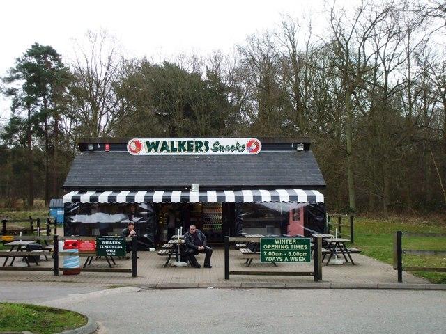 Walkers snack bar, Barton Mills