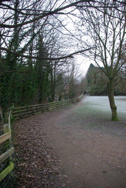 Footpath in Wellesbourne