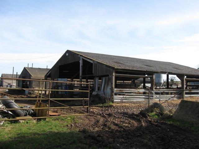 Modern Livestock Pens, Upper Farm, Drayton Beauchamp